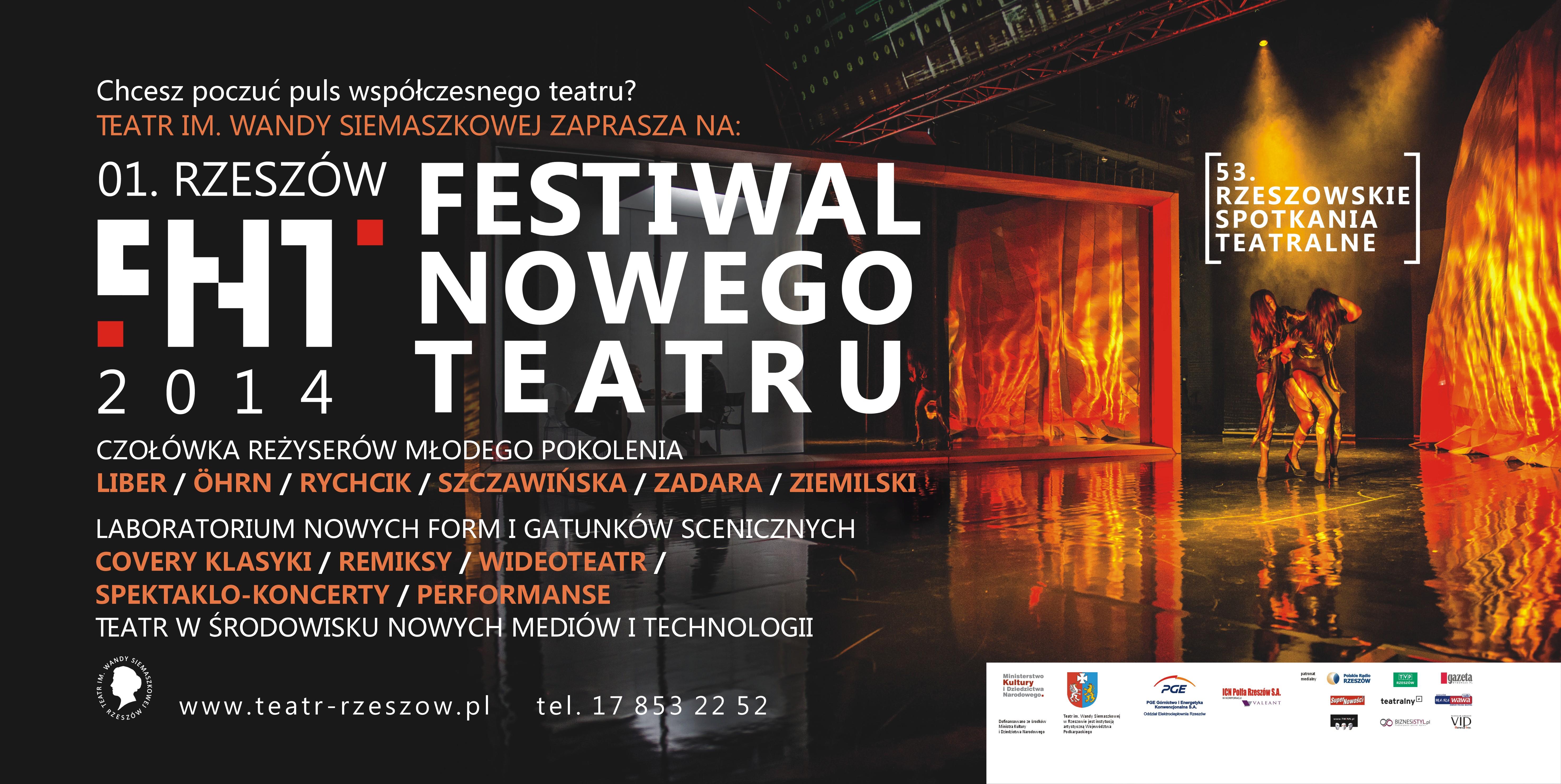 Rzeszowskie Spotkania Teatralne - Festiwal Nowego Teatru