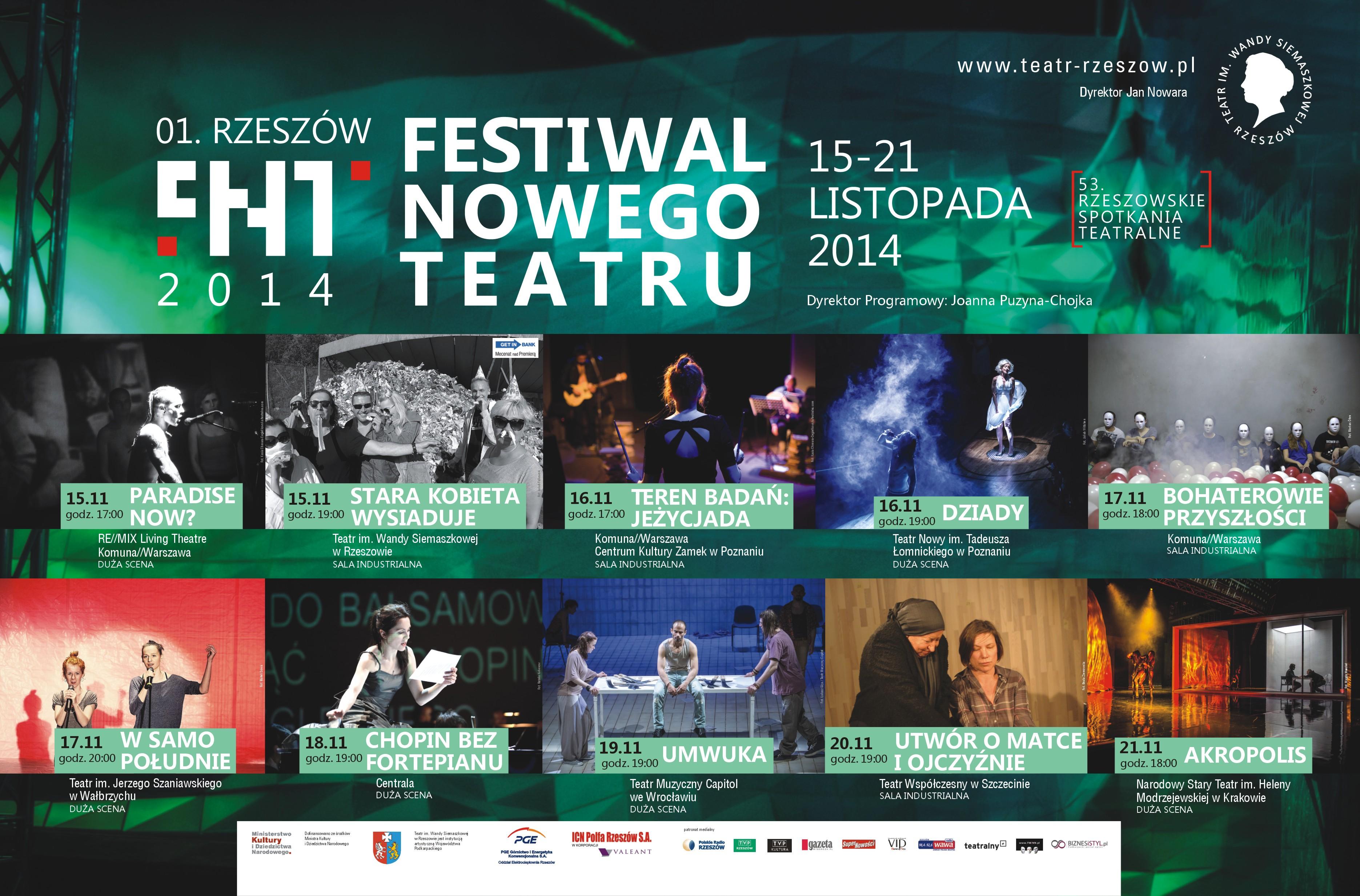 Spot Festiwalu Nowego Teatru
