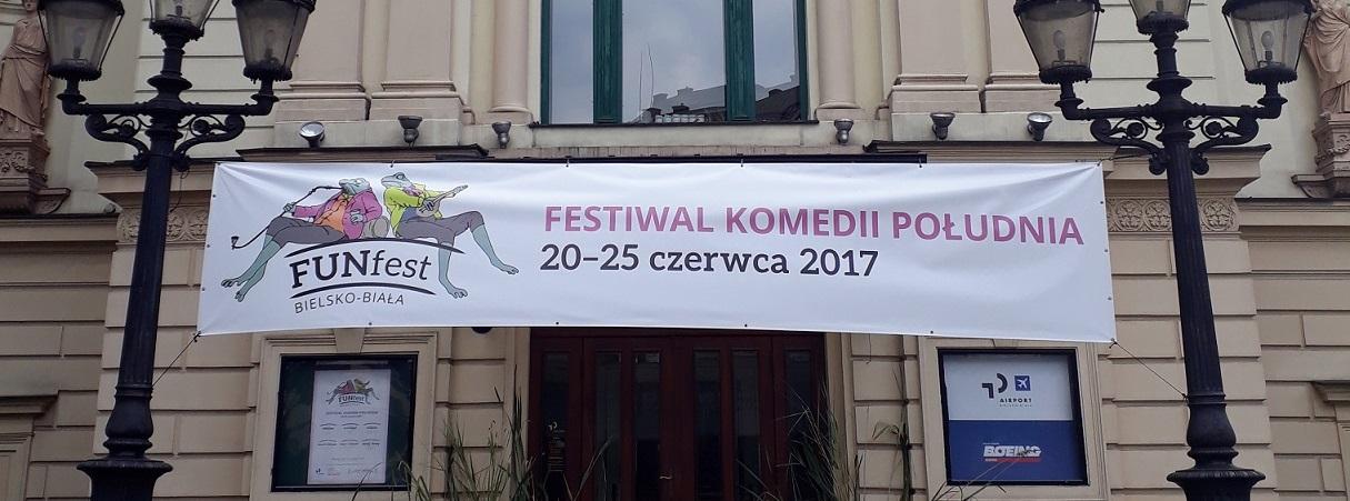 Relacja z Festiwalu Komedii Południa - FUNfest-u