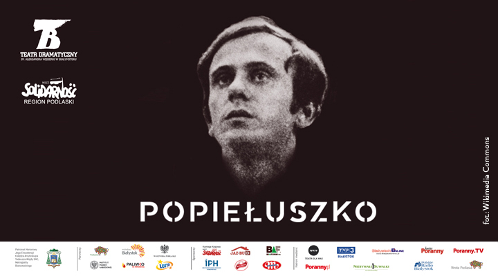 """Ostatnie wolne miejsca na spektakl """"Popiełuszko""""! Jedyna taka okazja w Rzeszowie!"""