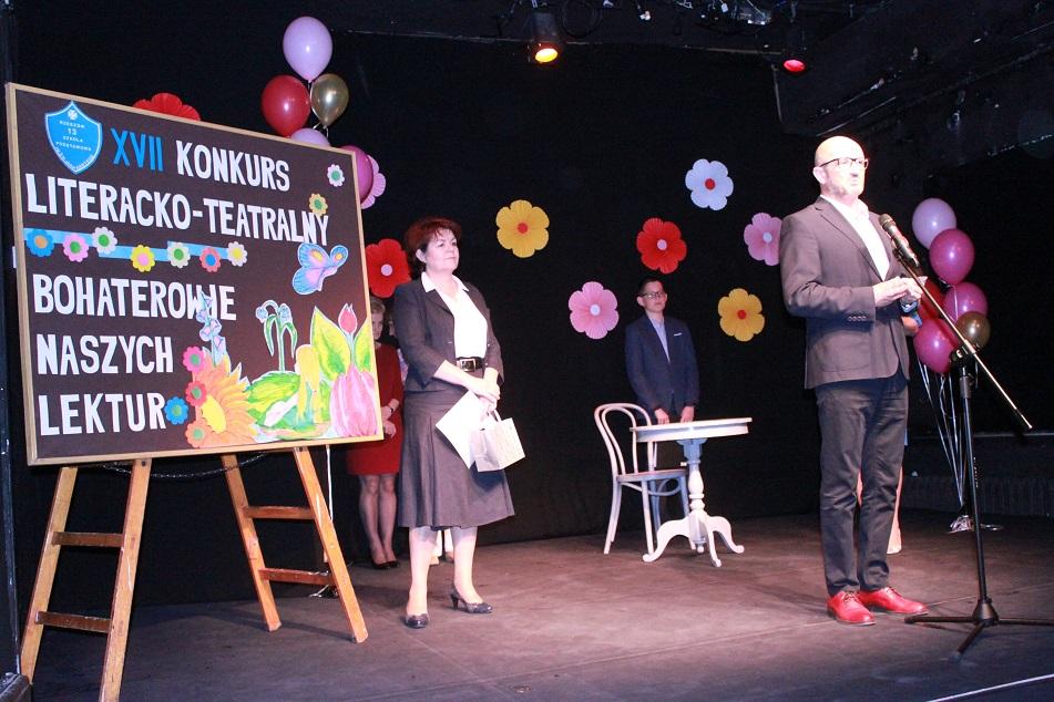 """Konkurs teatralno-literacki """"Bohaterowie naszych lektur"""""""