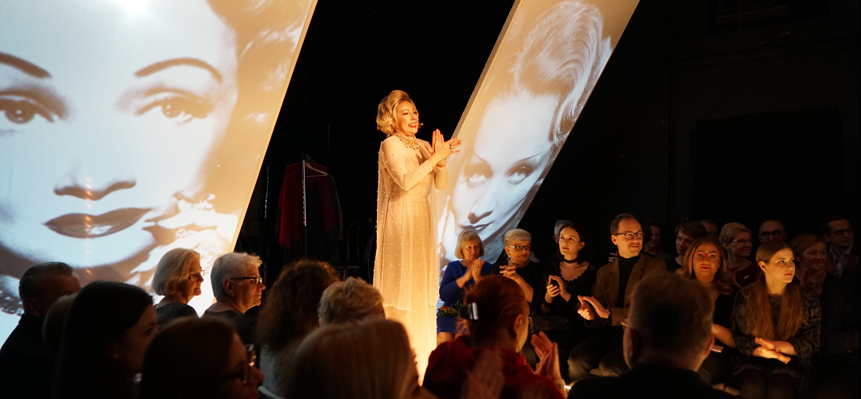 """11-12 stycznia 2019 premiera ,,Marlene Dietrich. Błękitny Anioł"""""""