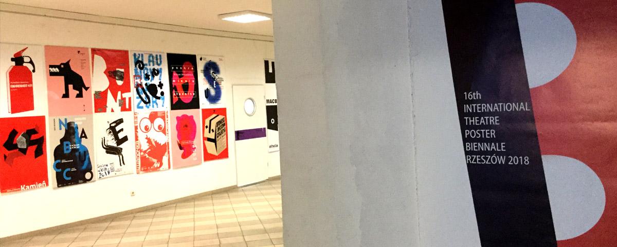Kłajpeda - kolejny pokaz wędrującej wystawy  Biennale Plakatu Teatralnego