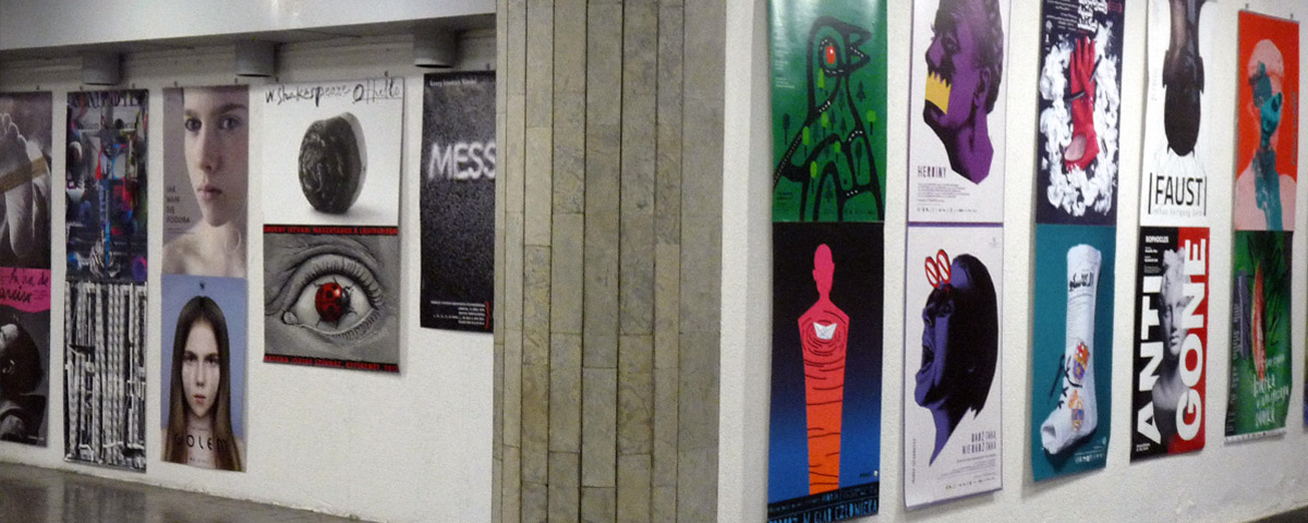 Wystawa Międzynarodowego Biennale Plakatu Teatralnego na Litwie