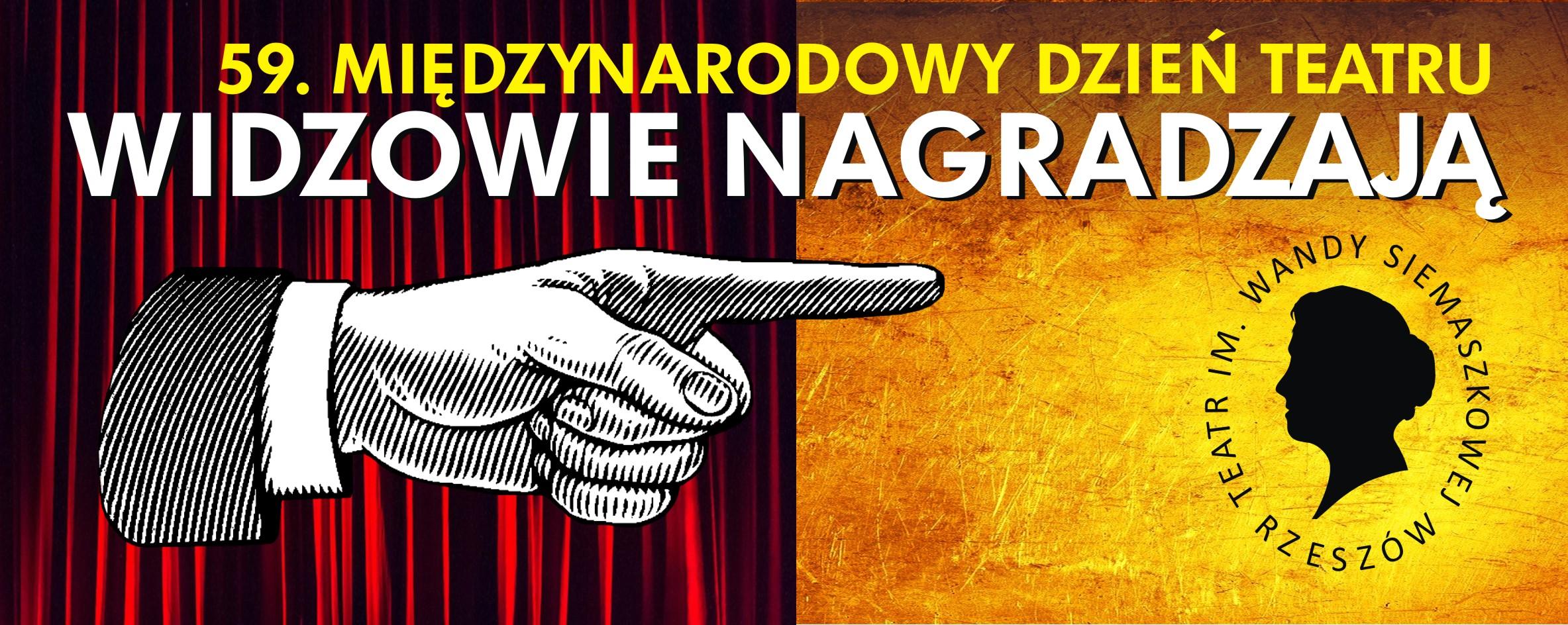"""REGULAMINY głosowania """"WANDA '20"""" dla ulubionej aktorki, aktora i spektaklu i konkursu na Facebooku"""