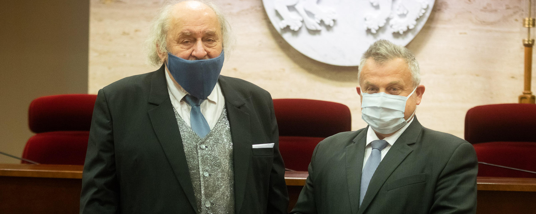Piotr Mieczysław Napieraj z Nagrodą Marszałka Województwa Podkarpackiego