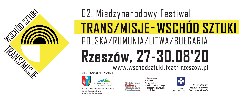 Zmiany w programie 02. MF TRANS/MISJE – Wschód Sztuki