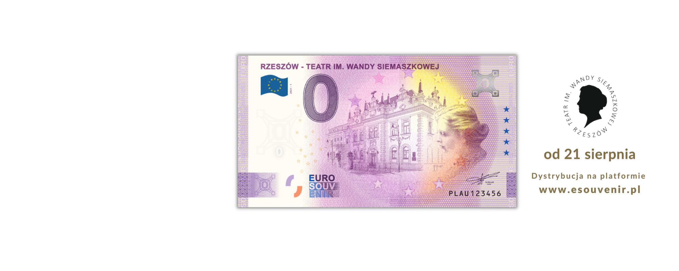 Premiera Banknotu 0 Euro z podobizną Wandy Siemaszkowej